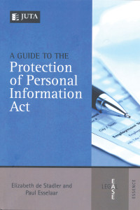 Book_A guide to the Protection of Personal Information Act
