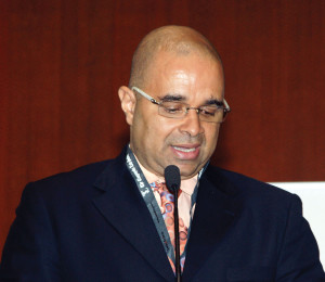Pesident of SADC LA, Gilberto Caldeira Correia, speaking at the 16th annual conference.