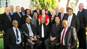 Cape Law Society council members with Justice Minister Michael Masutha (front, second from left) who was the keynote speaker at the Cape Law Society annual general meeting in Kimberley on 30 October.