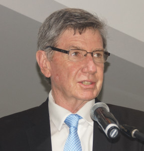 Co-chairperson of the Law Society of South Africa, Richard Scott, spoke on the need for a voluntary body in the Legal Practice Act dispensation.