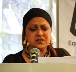 NADEL's joint gender coordinator in Johannesburg, Rehana Rawat, delivered the opening address to delegates.