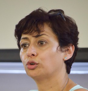 Advocate at the Johannesburg Bar, Farhana Docrat, discussed her experiences in the panel discussion held on 24 October.