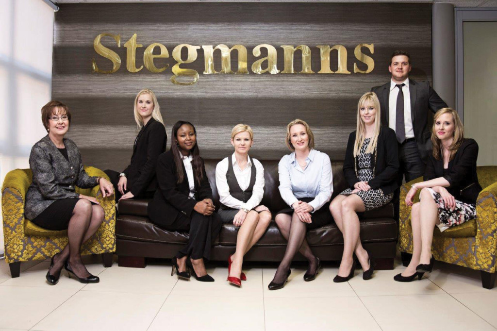 From left: Isa Vorster, Tracy-Erin Duggan, Flora Sibanyoni, Nicole Pagel, Colette Botha, Robyn Haupt, Donald Fischer and Jacqueline Retief.