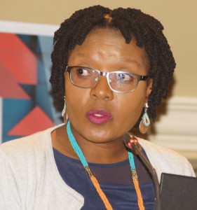 Justice Department's Director-General, Nonkululeko Sindane, gave statistics on briefing patterns in the legal profession at the Law Society of South Africa's summit on briefing patterns held in Kempton Park on 31 March.
