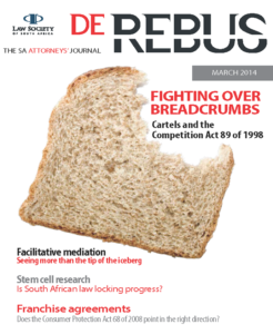 March 2014 De Rebus_Cover