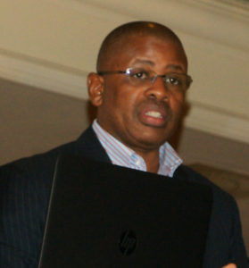 Chief Executive Officer of the South African Institute of Chartered Accountants, Dr Terence Nombembe, delivered the keynote address under the heading 'Economic impact of professionals'.