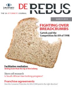 March 2014 De Rebus_Cover